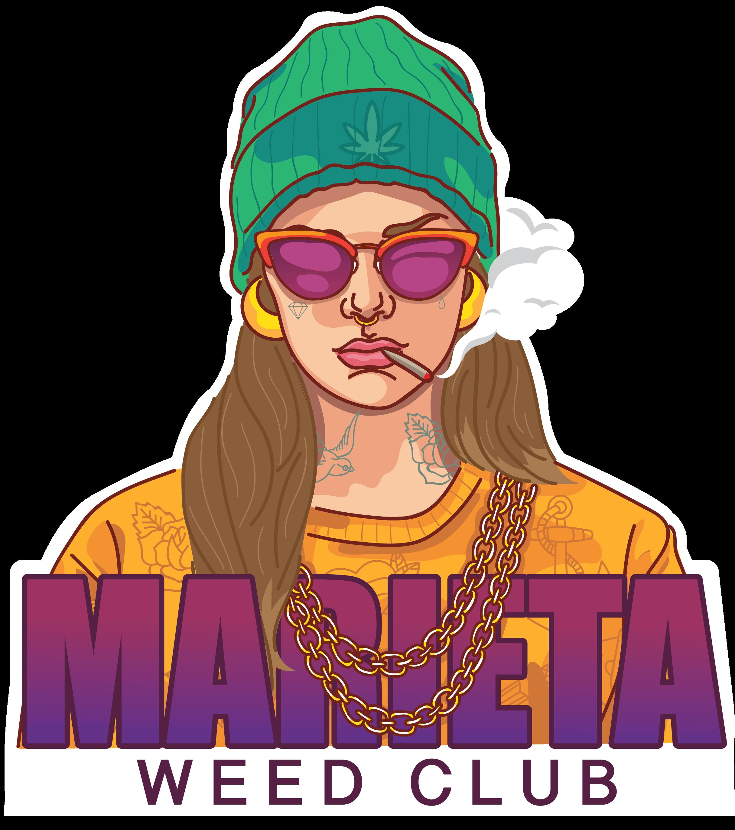 marieta weed club logo
